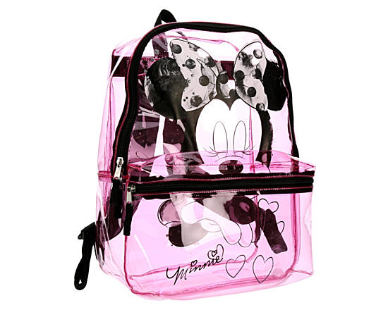 Girls Clear Backpack