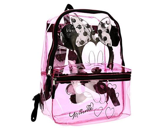 Girls Clear Backpack