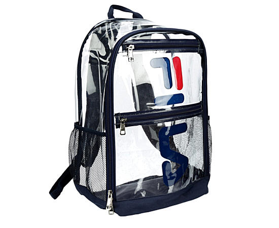 Mens Maurice Clear Backpack