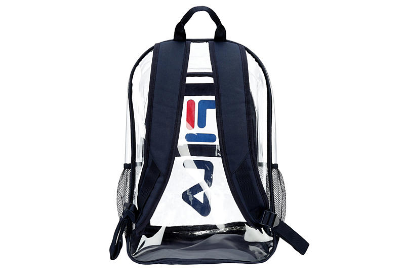 FILA Unisex Maurice Clear Backpack - BLUE