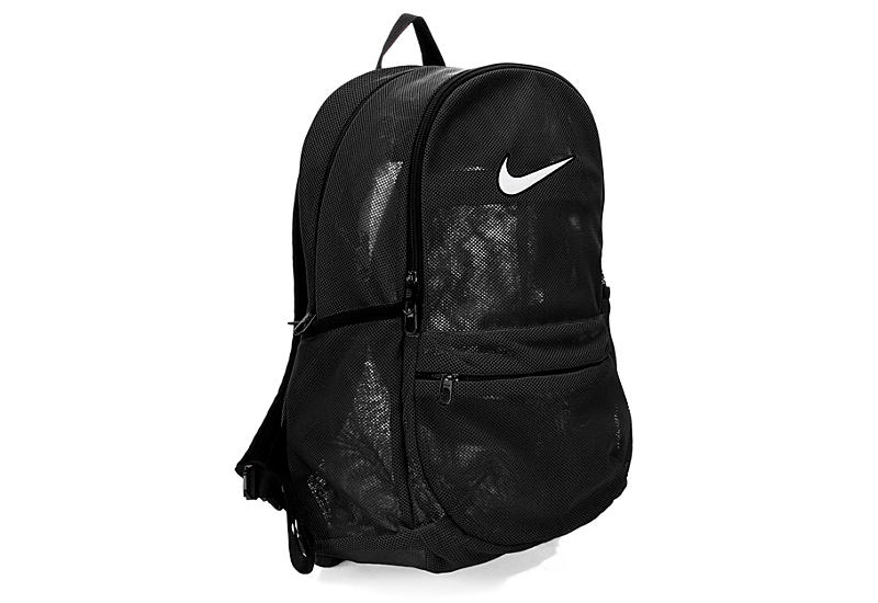 Nike Mens Brasilia Mesh Backpack - Black