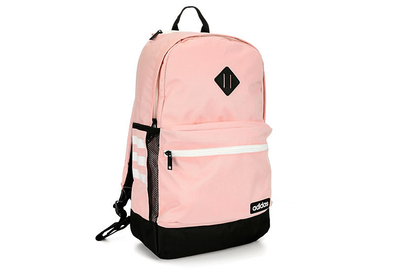 Adidas Womens Classic 3s Ii Backpack - Coral 67cb658f36f08