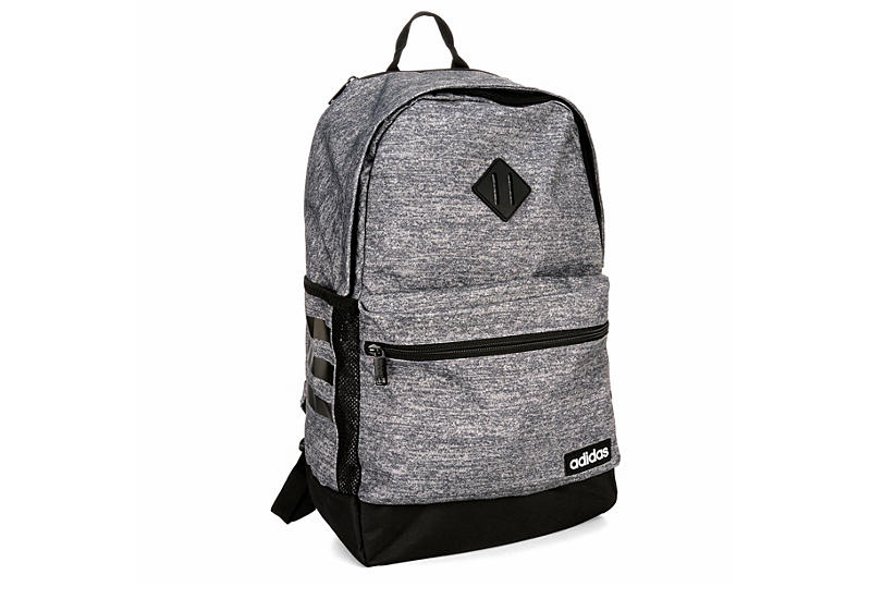 Adidas Mens Classic 3s Ii Backpack - Grey