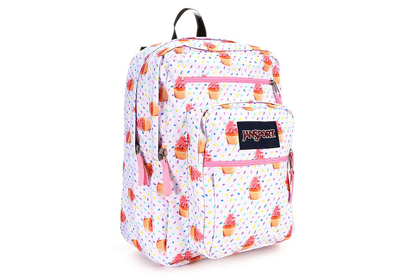 WHITE JANSPORT Womens Big Student Backpack