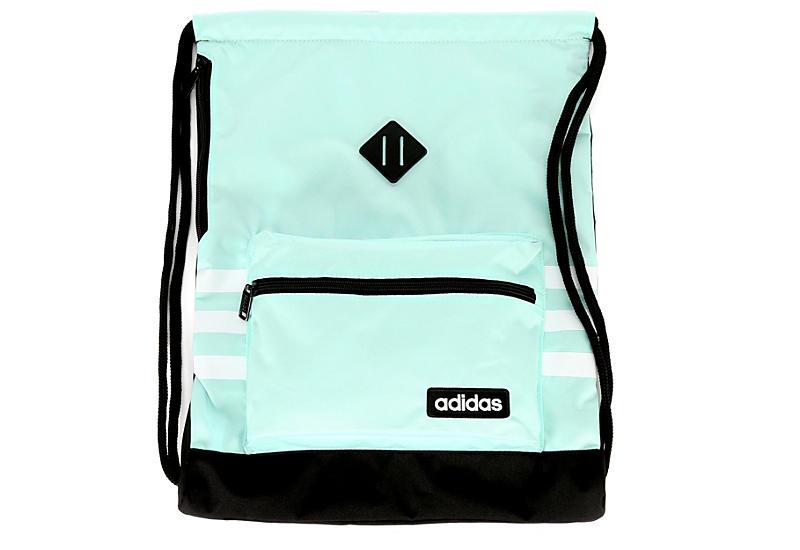 0161fc6491 Adidas Womens Classic 3s Drawstring - Mint