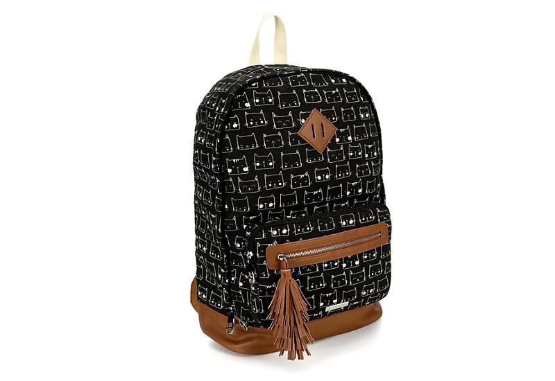 9e6f0c47380 Black Madden Girl Womens Kitty Kat Backpack | Accessories | Rack ...