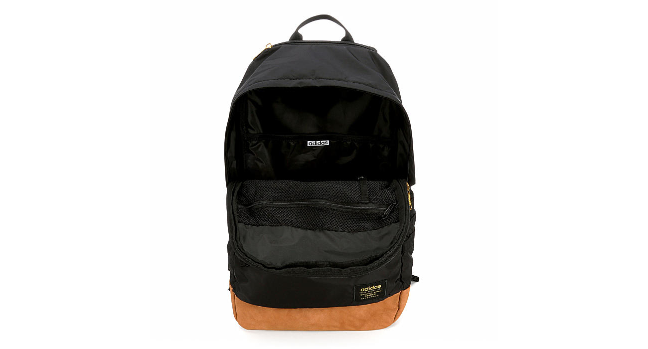 ADIDAS Unisex Classic 3s Plus Backpack - BLACK