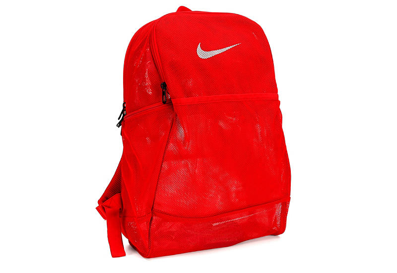 seleccione para oficial calidad super popular Red Nike Unisex Brasilia Mesh Backpack | Accessories | Rack Room Shoes