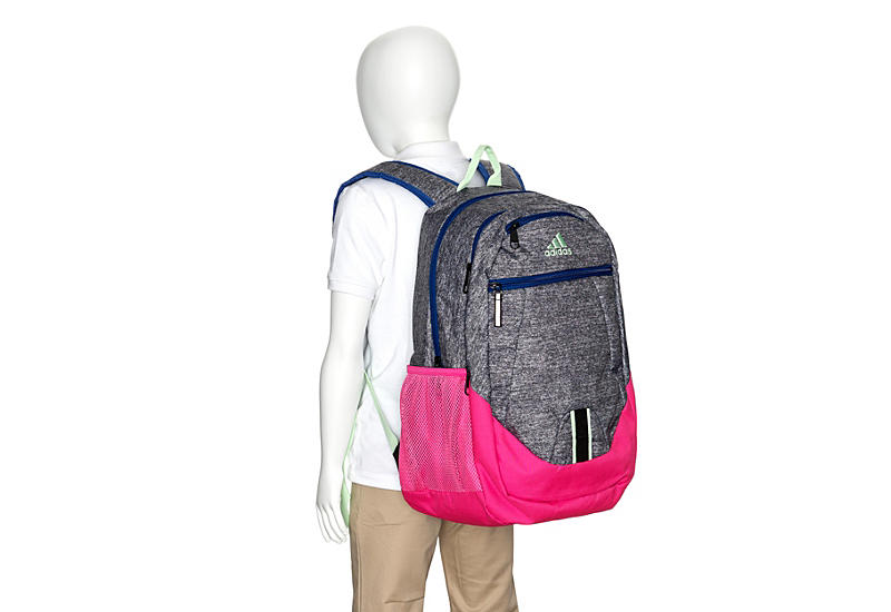 ADIDAS Girls Foundation V Backpack - GREY