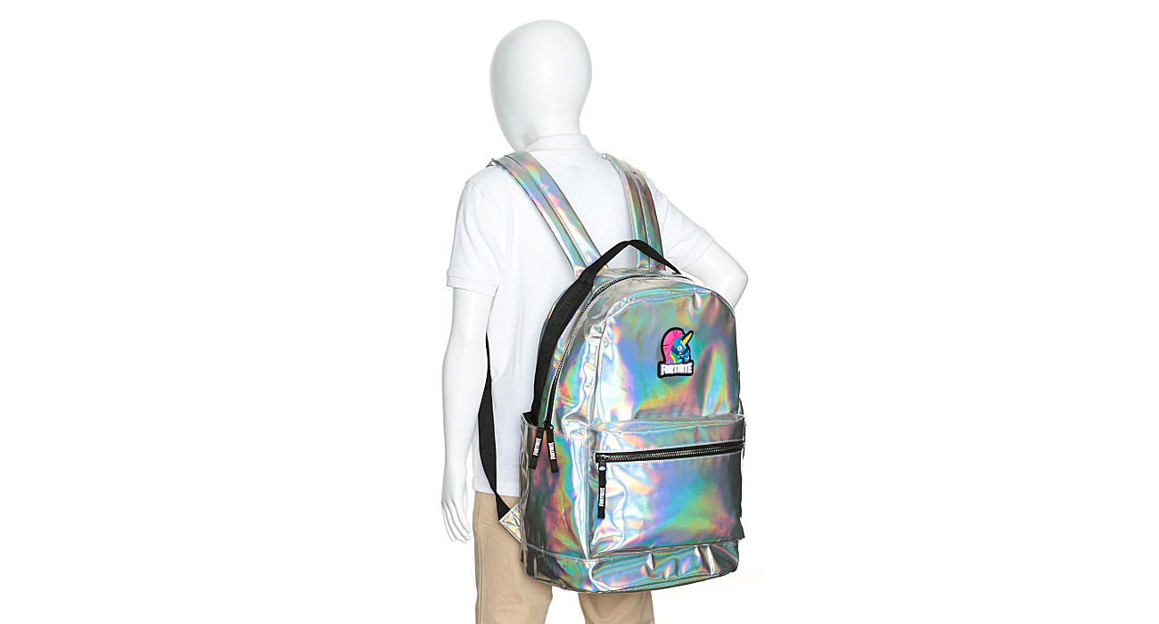 FORTNITE Girls Stamped Backpack - PALE PINK