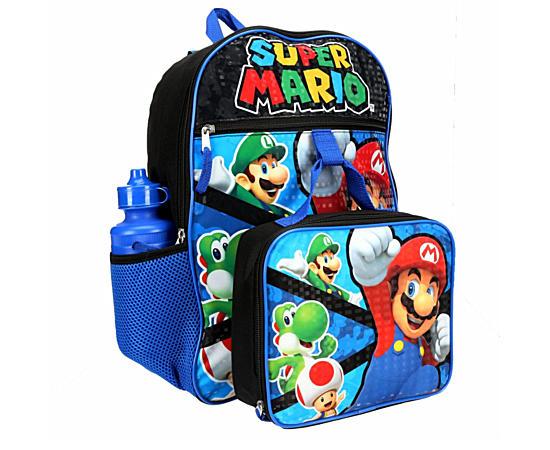 Boys 5 Piece Backpack Set