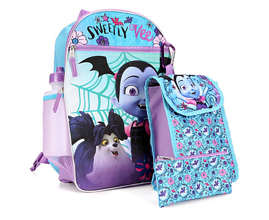 Girls 5 Piece Backpack Set