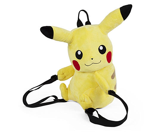 Girls Pikachu Plush Backpack