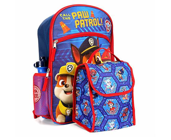 Boys 5 Piece Set Backpack