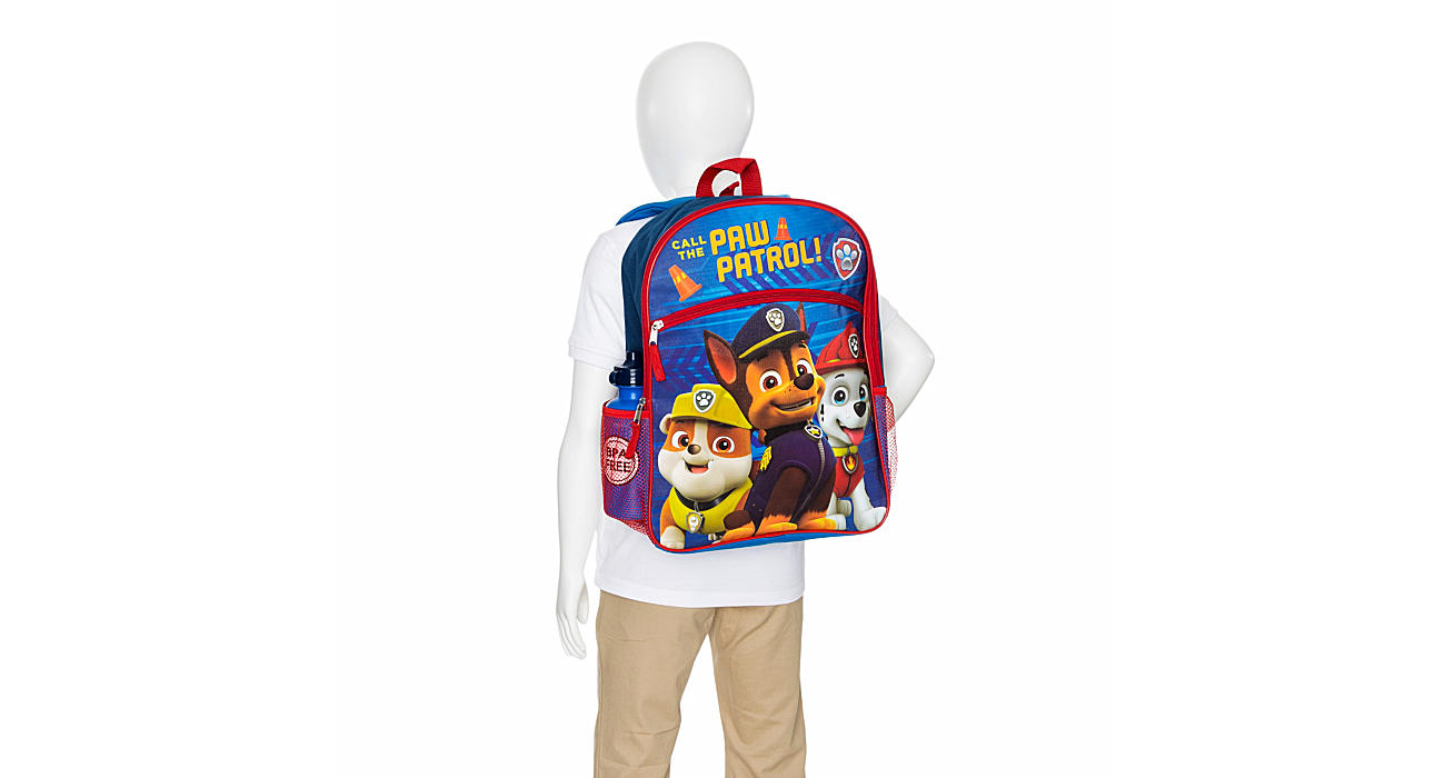 5c143bbc04 Paw Patrol Boys 5 Piece Set Backpack - Red