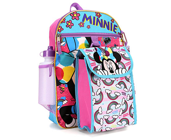 Girls 5 Piece Set Backpack