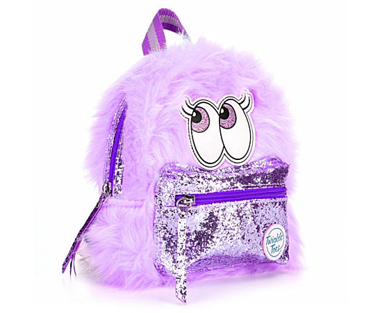 Girls Fuzzy Mini Backpack