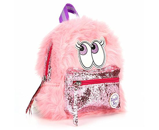 Girls Fuzzy Mini Backpack