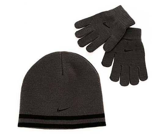 Boys Reversible Hat And Glove Set