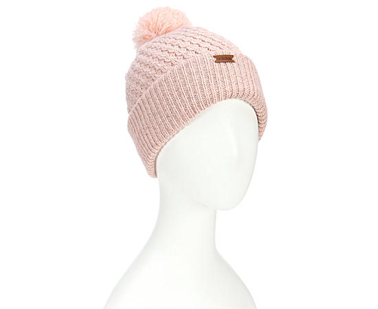 Womens Twilight Beanie With Pom