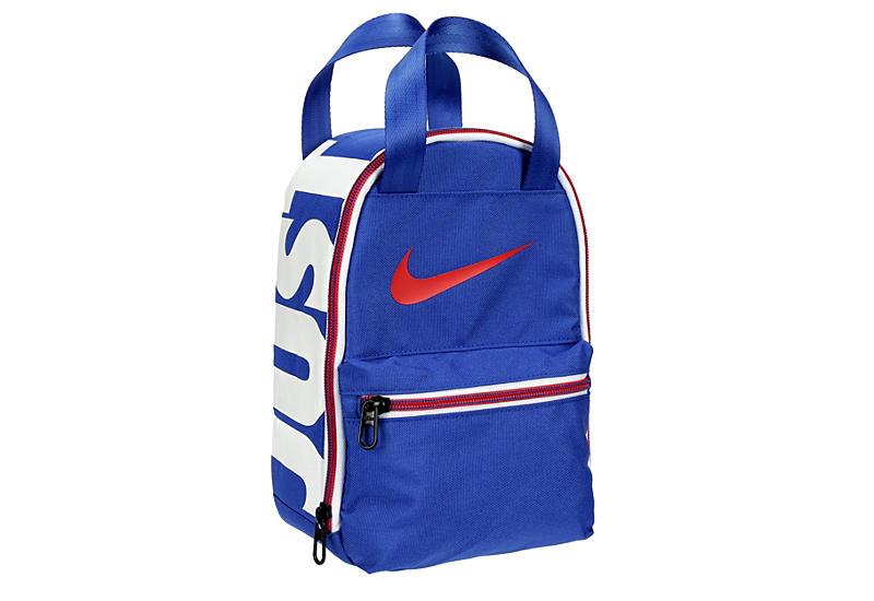 Blue Nike Boys Lunch Bag