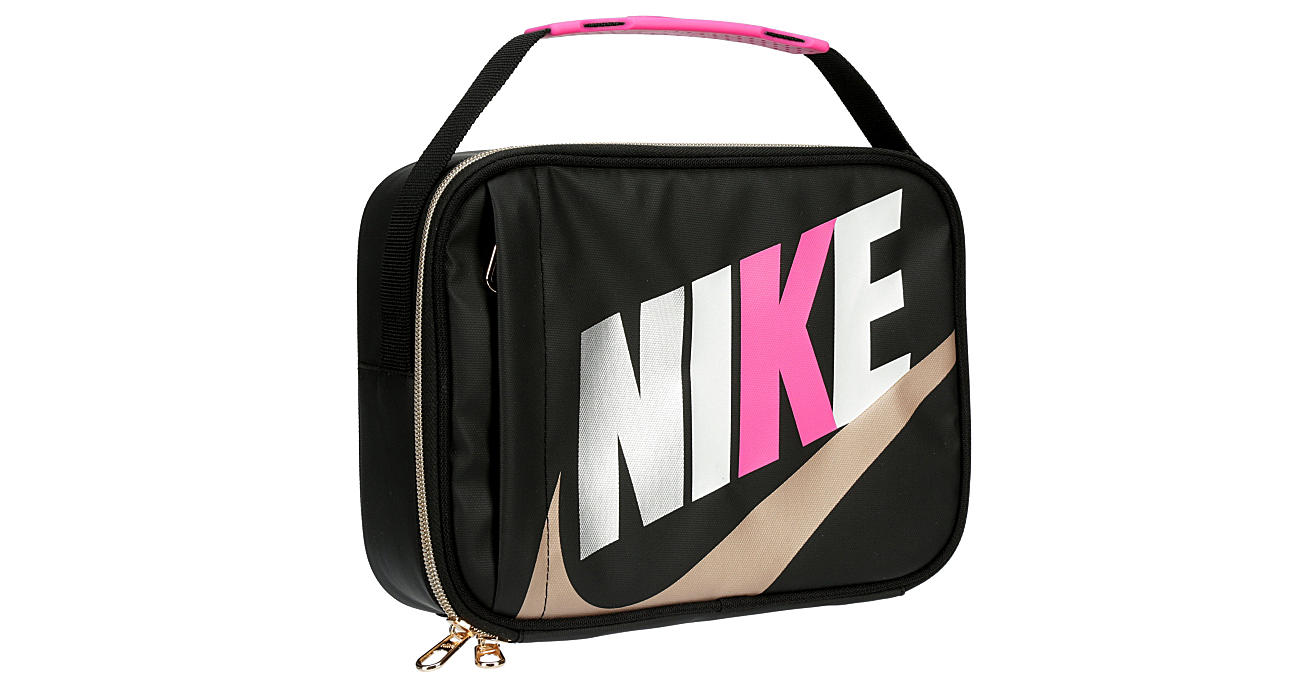 NIKE Girls Lunch Bag - BLACK