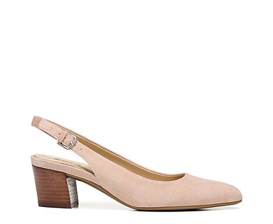 Womens Charlee Block Heel Sling Back