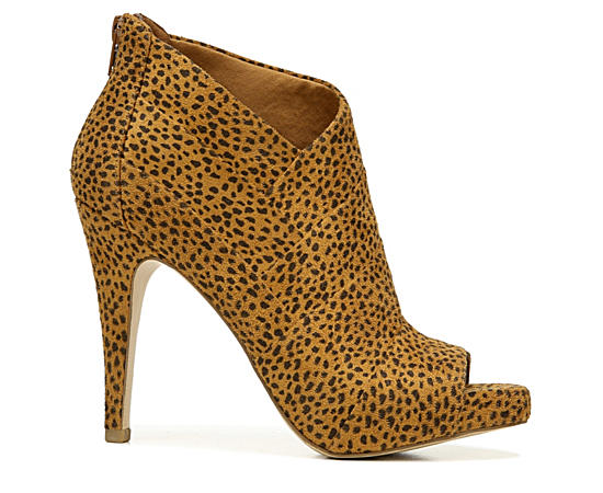 Womens Taylor Peep Toe Ankle Bootie
