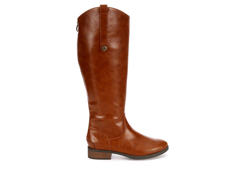 XAPPEAL Womens Emery Riding Boot - BROWN