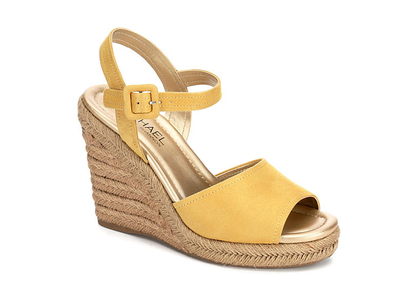 MICHAEL BY MICHAEL SHANNON Womens Lainey - YELLOW
