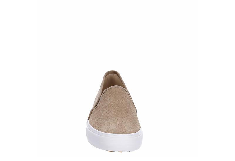 KEDS Womens Double Decker Slip On Sneaker - TAUPE