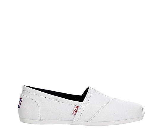 Womens Bobs Plush - Peace And Love Slip On