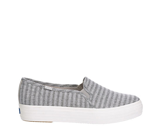Womens Triple Decker Slip On Sneaker