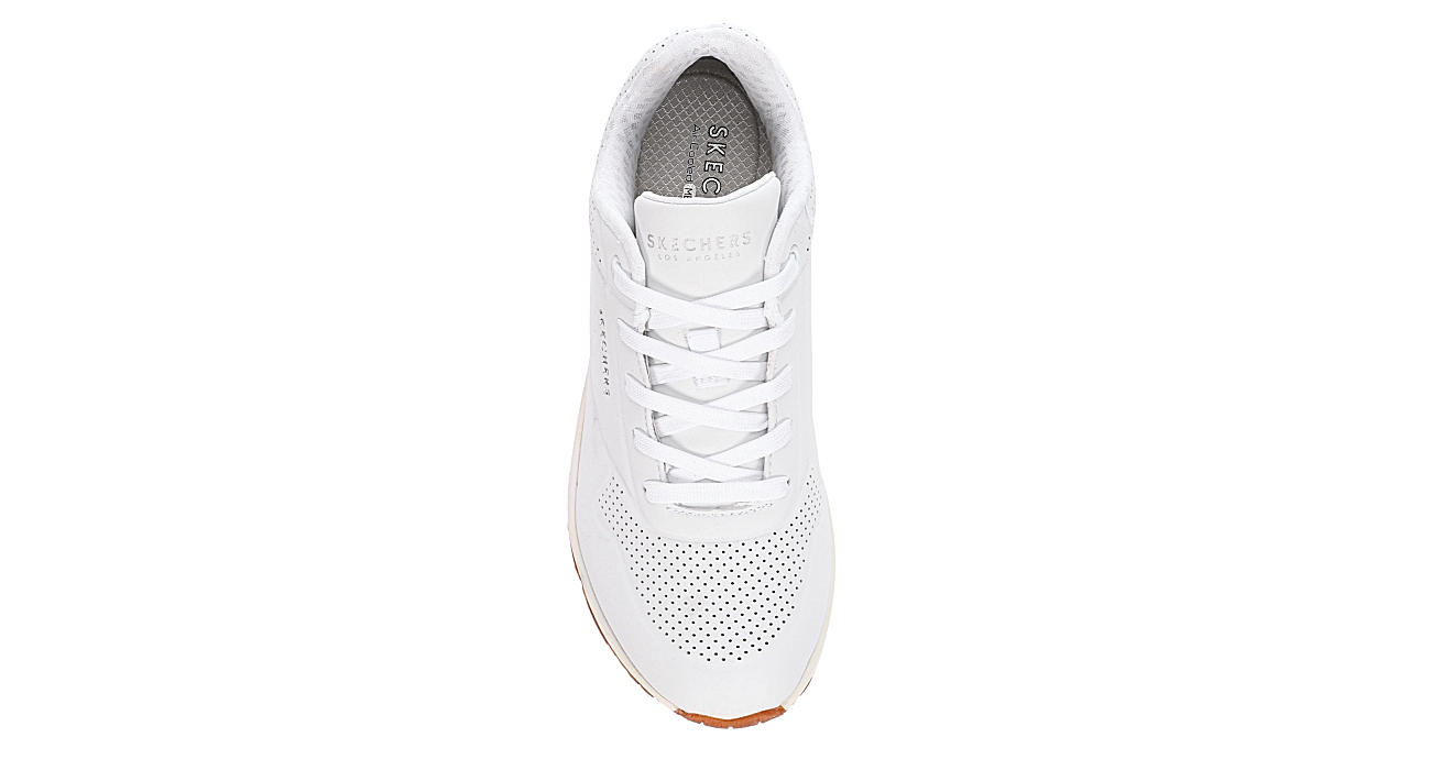 SKECHERS Womens Uno-stand On Air Sneaker - WHITE