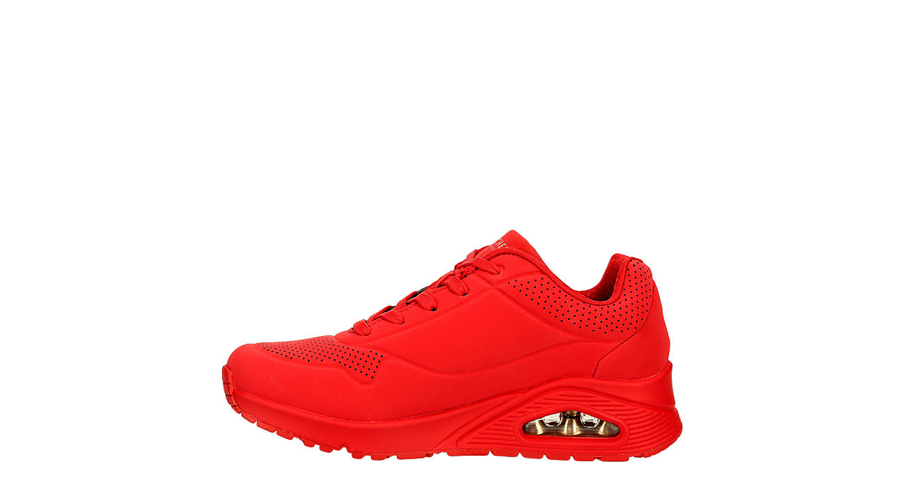 SKECHERS Womens Uno-stand On Air Sneaker - RED