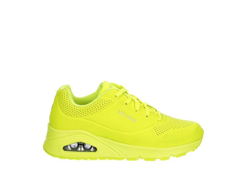 SKECHERS Womens Uno-neon Nights Sneaker - NEON