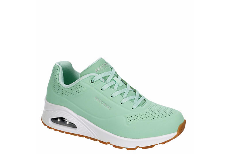 SKECHERS Womens Uno-stand On Air Sneaker - MINT