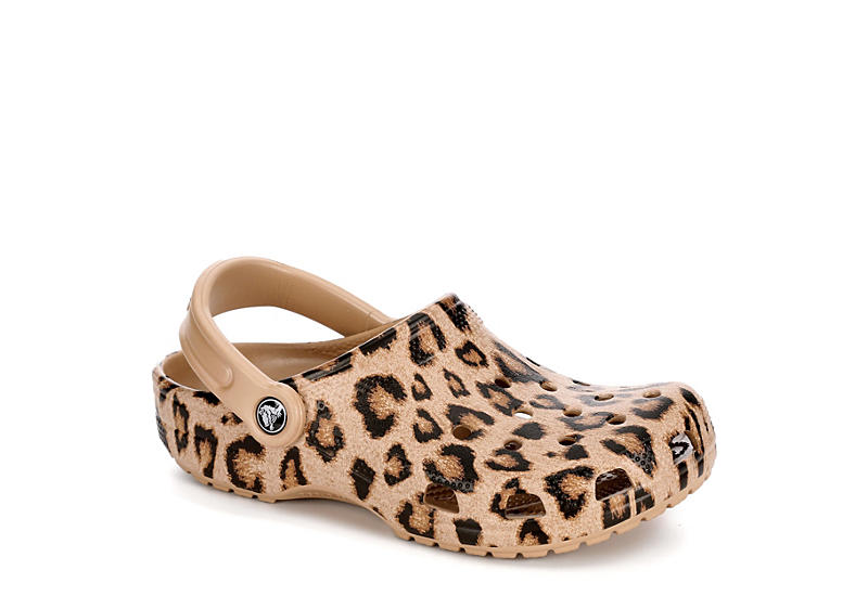 the best look for factory price LEOPARD CROCS Womens Classic