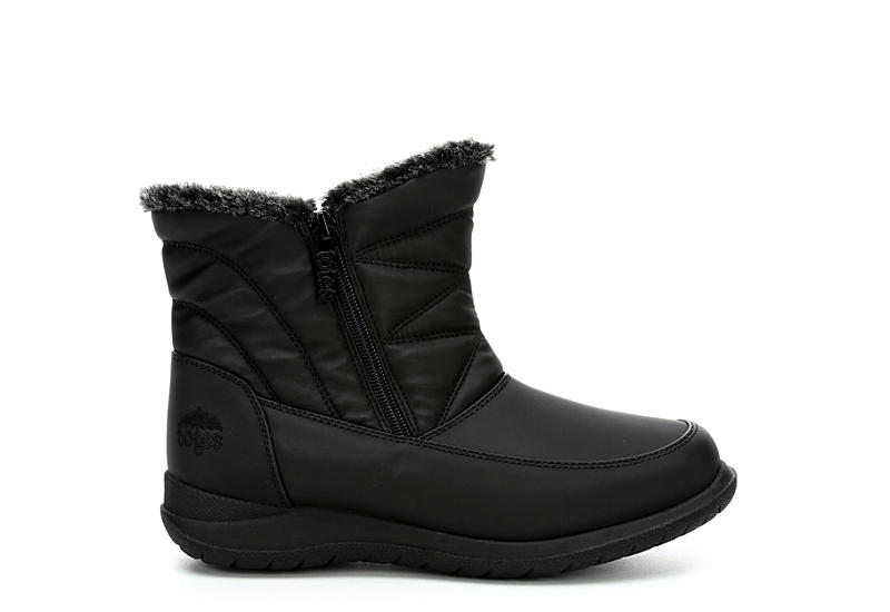 TOTES Womens Eileen Cold Weather Boot - BLACK