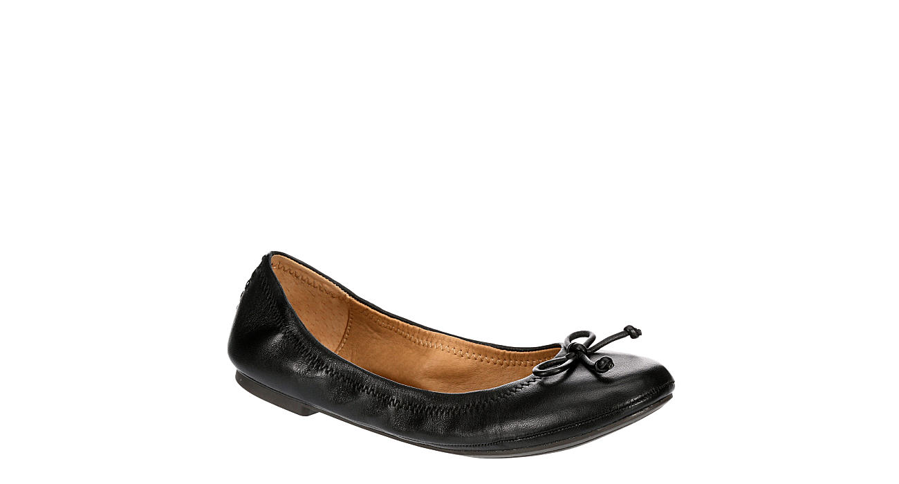 LUCKY BRAND Womens Eadda Flat - BLACK