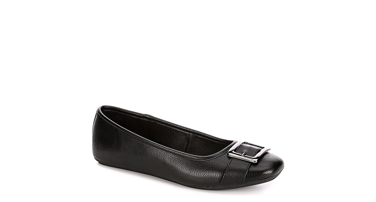 XAPPEAL Womens Lily Flat - BLACK