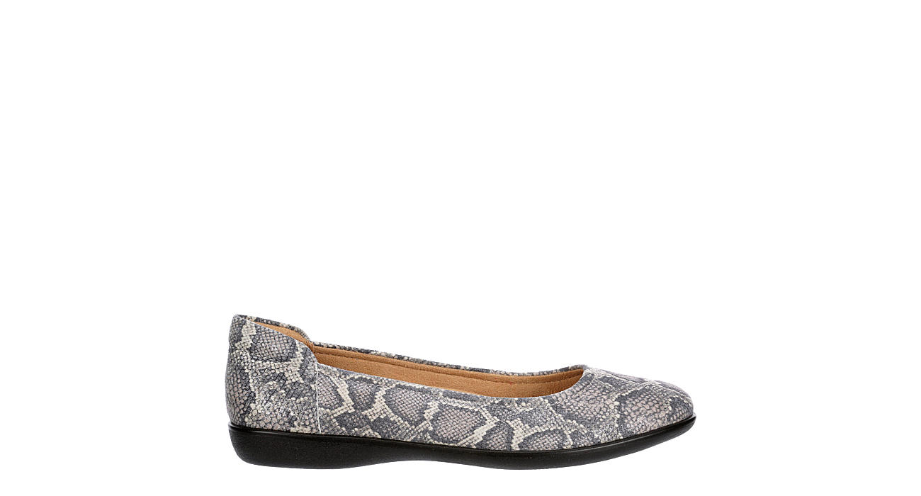NATURALIZER Womens Flexy Flat - PEWTER
