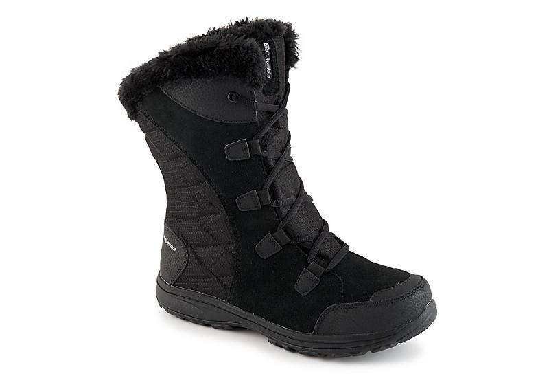 COLUMBIA Womens Ice Maiden Ii Cold Weather Boot - BLACK