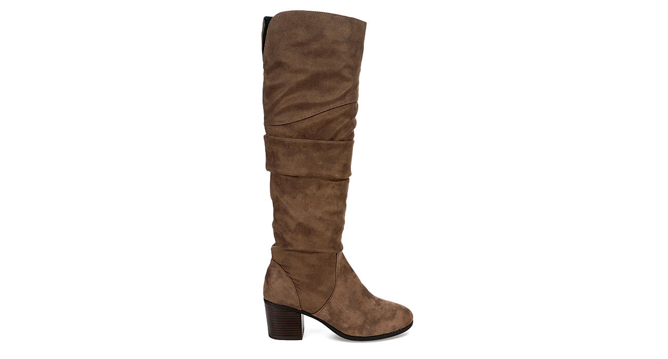 L4L Womens Trap Over The Knee Boot - TAUPE