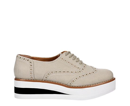 Womens Cutie Pie Platform Oxford