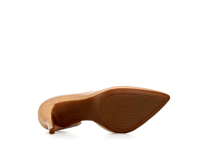 JESSICA SIMPSON Womens Leesy Pointed Toe Heel - NUDE