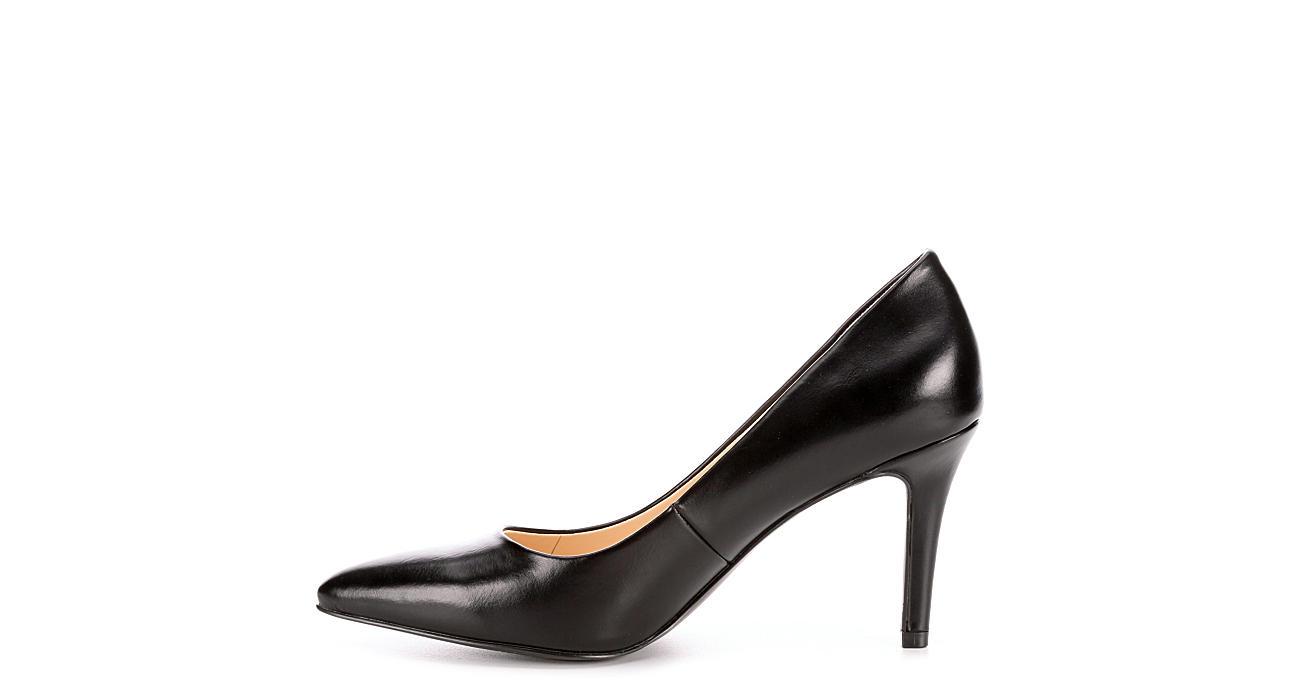 MICHAEL BY MICHAEL SHANNON Womens Kenzie Pointed Toe Pump - BLACK