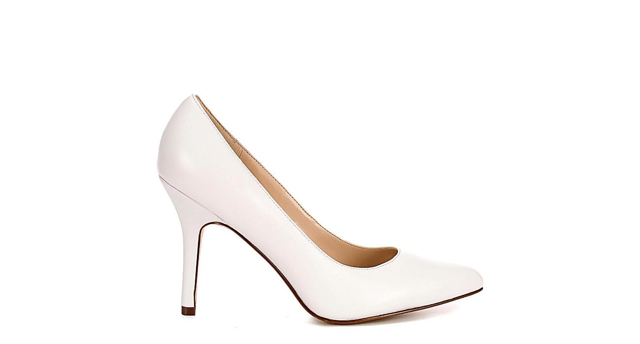NINE WEST Womens Shimmer - WHITE