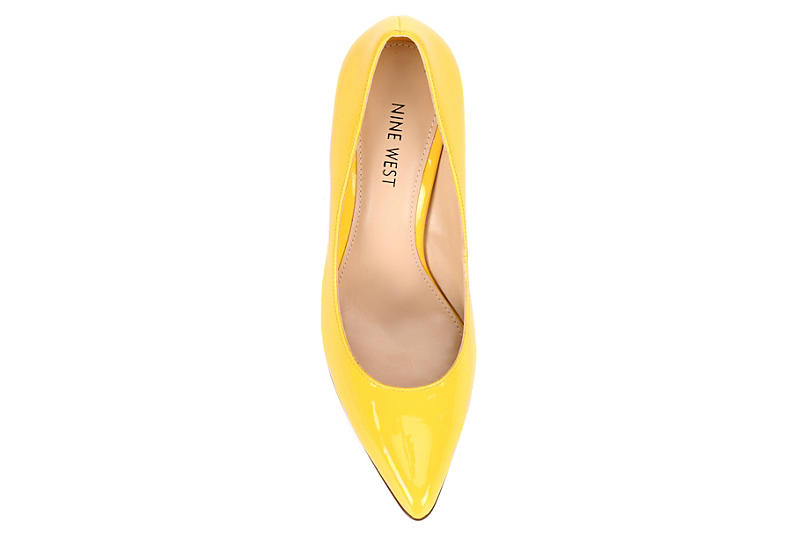 NINE WEST Womens Shimmer - YELLOW