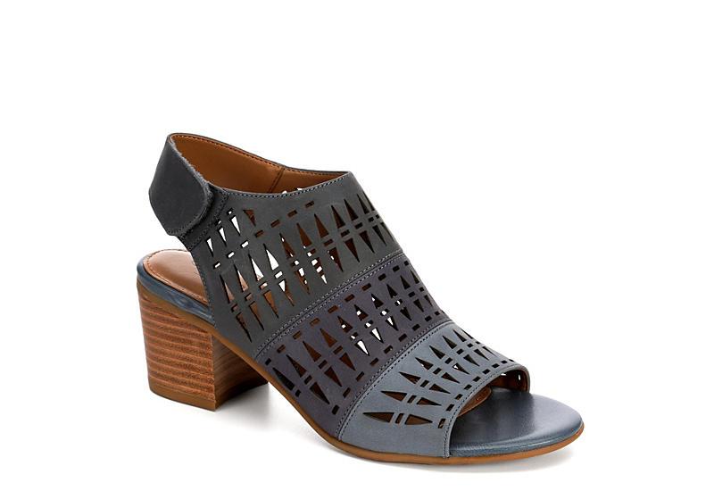 COMFORTIVA Womens Ally Sandal - BLUE